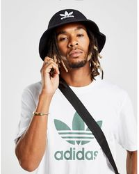adidas Originals Trefoil Bucket Hat - Black