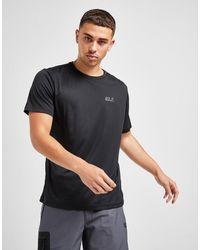Jack Wolfskin Tech T-shirt - Black