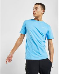 Columbia Cascade T-shirt - Blue