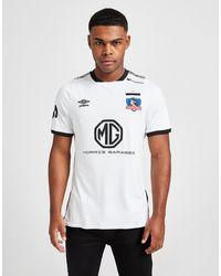 Umbro Colo-colo 2020/21 Home Shirt - White