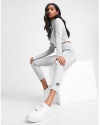 Nike Air Ribbed Leggings - Gray