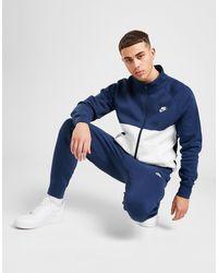 Nike Chariot Fleece Full Tracksuit - Blue