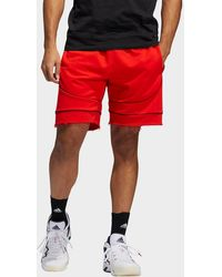 adidas Donovan Mitchell D.o.n. Issue #2 Shorts - Red