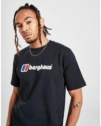 Berghaus Large Logo T-shirt - Black