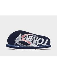 Tommy Hilfiger Pop Beach Sandals - Blue