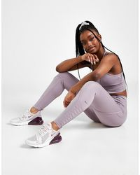 Nike Training One Luxe Laced Tights - Purple