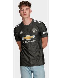 adidas Manchester United Fc 2020/21 Away Shirt - Black