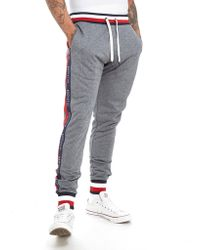 Tommy Hilfiger - Tech Terry Tape Trousers - Lyst