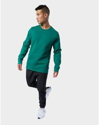 336151e7 Training Supply Crew Sweatshirt - Green