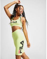 Fila - Logo Cycle Shorts - Lyst