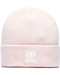 adidas Originals - Trefoil Beanie Hat - Lyst