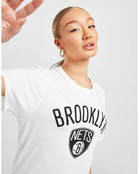 KTZ Nba Brooklyn Nets T-shirt - White
