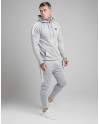 SIKSILK Poly Track Trousers - Grey