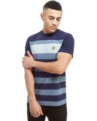 Lyle & Scott - Large Stripe Short Sleeve T-shirt - Lyst