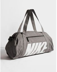 South Beach Bright Geo Print Gym Bag With Canvas Handles Lyst