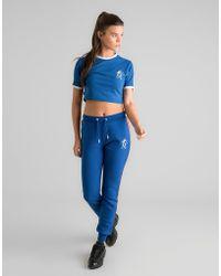 Gym King - Crop Ringer T-shirt - Lyst