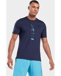 Reebok Speedwick Move T-shirt - Blue