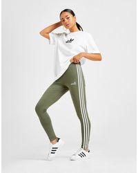 adidas Originals 3-stripes Linear Leggings - Green