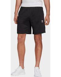 adidas Originals Trefoil Essentials Shorts - Black