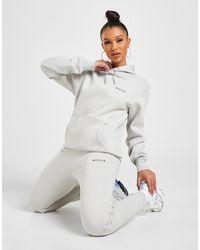 Nicce London Logo Fleece Joggers - Grey