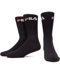 Fila - 3pack Crew Sport Socks - Lyst