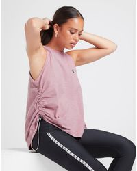 Under Armour Charged Cotton Tank - Pink