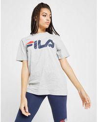 Fila Core Logo Boyfriend T-shirt - White