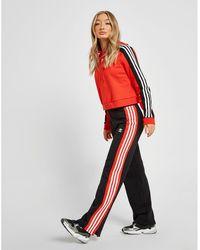 adidas Originals Wide Leg Sweatpants - Red