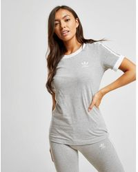 adidas Originals 3-stripes California T-shirt - Gray