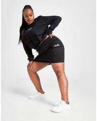 Ellesse Plus Size Cargo Pocket Skirt - Black
