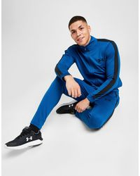 Under Armour Poly Tracksuit - Blue