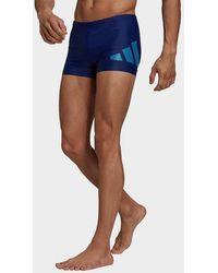 adidas Logo Graphic Swim Briefs - Blue