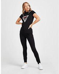 Guess Jean Skinny Taille Haute Ultimate Femme - Noir