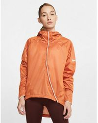 Nike Shield Running Jacket - Orange