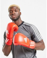 adidas Aiba Approved Boxing Gloves - Red