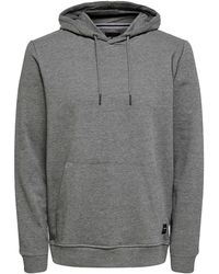 Only & Sons - Sweater ONSWINSTON SWEAT HOODIE - Lyst