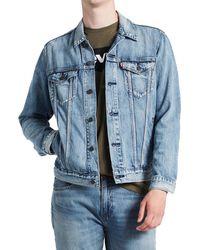 Levi's Levis® Jeansjacke The Trucker Jacket - Blau