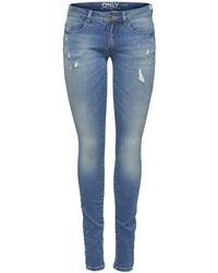 ONLY Jeans onlCORAL SL SK DNM JEANS BJ8191 - Blau