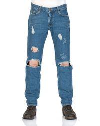 Lee Jeans Unisex Jeans 90 Rider Slim Fit - Blau