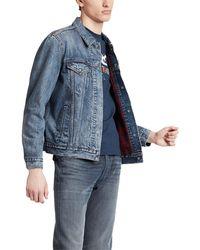 Levi's Levis® Jeansjacke Lined Trucker Jacket - Blau