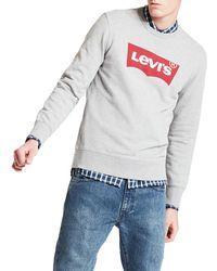 Levi's Levis Sweater Graphic Crew B - Grau