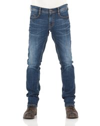 Mustang Jeans Oregon Tapered Fit - Blau