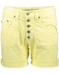 Please Freizeit Short P88A Boyfriend In Vielen Verschiedenen Farben - Gelb