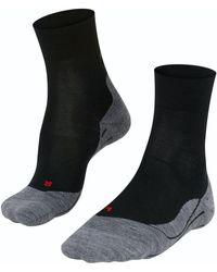 FALKE Sport Socken Ru4 Wool - Grau