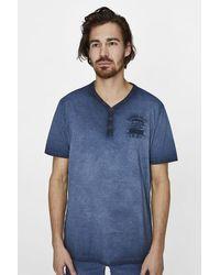 Pilot T-shirt - Blauw