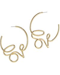 Jenny Bird Love Hoops - Metallic