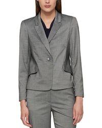 Tommy Hilfiger - Pinstripe Office Wear One-button Blazer - Lyst