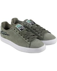 1250878c4c433d PUMA - X Trapstar Clyde Bold Burnt Olive Lace Up Sneakers - Lyst