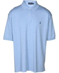 Polo Ralph Lauren | Big & Tall Classic Fit Pony Polo Shirt-blue-2xlt | Lyst