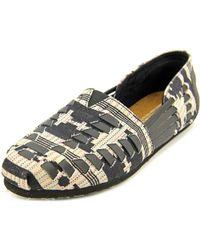 TOMS - Huarache Black Loafer - Lyst
